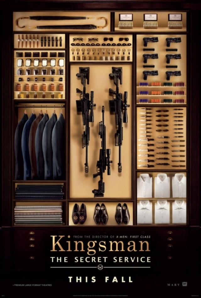 Постер фильма Kingsman: Секретная служба