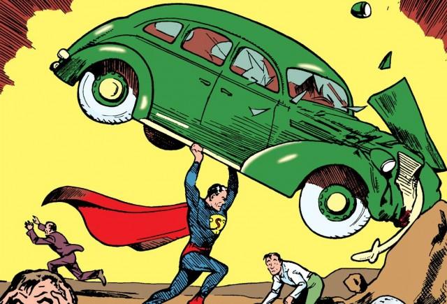 Культовый Action Comics #1 выставлен на аукцион