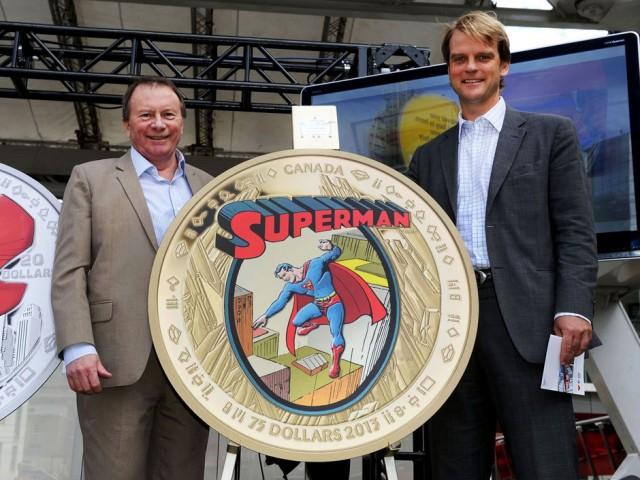 В Канаде выпустили коллекцию монет с изображением Супермена