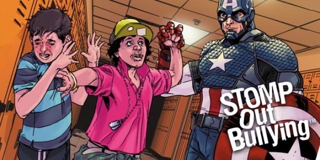 Обложки Marvel к месяцу борьбы со школьным хулиганством
