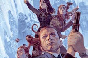 В интернете появилась обложка первого выпуска комикса «Агенты Щ.И.Т.»