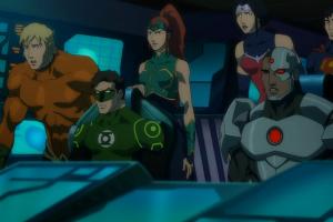 Дебютный трейлер «Лига Справедливости: Трон Атлантиды»