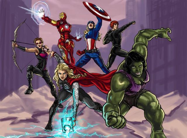 Marvel: Много спецэффектов и мало девушек