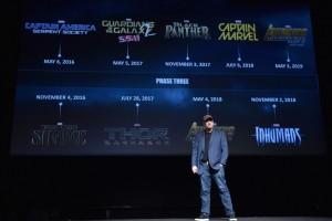 Marvel анонсировала все фильмы до 2019 года
