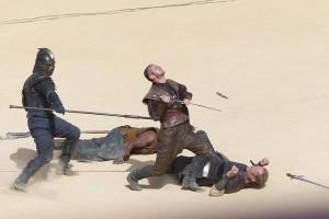 Спойлерные фото со съемок «Игры престолов»