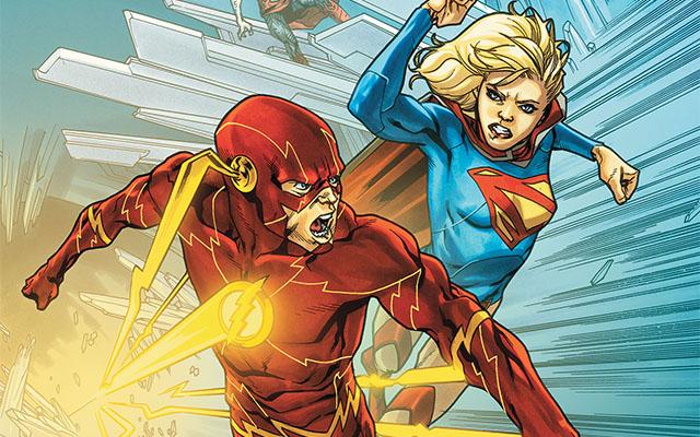 Супергерл может попасть во вселенную Стрелы и Флэша