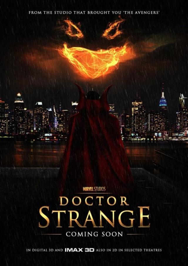 Постер фильма Доктор Стрэндж