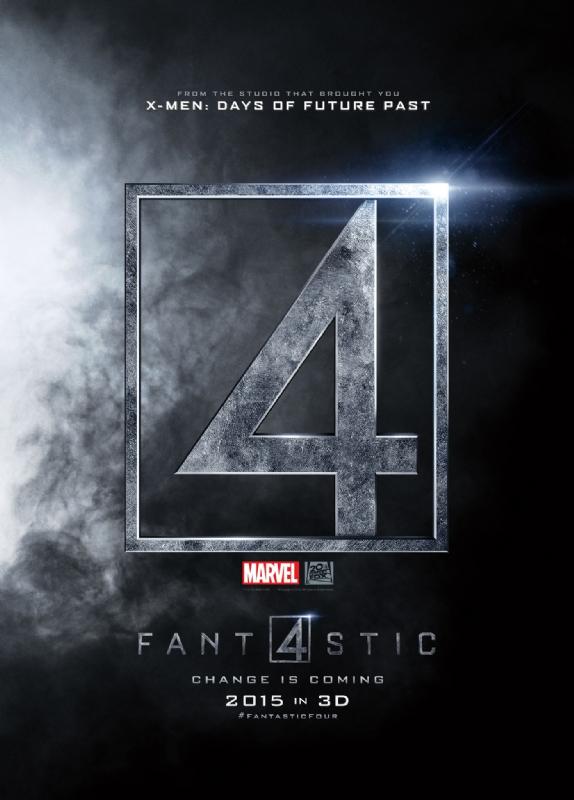 Постер фильма Фантастическая четверка