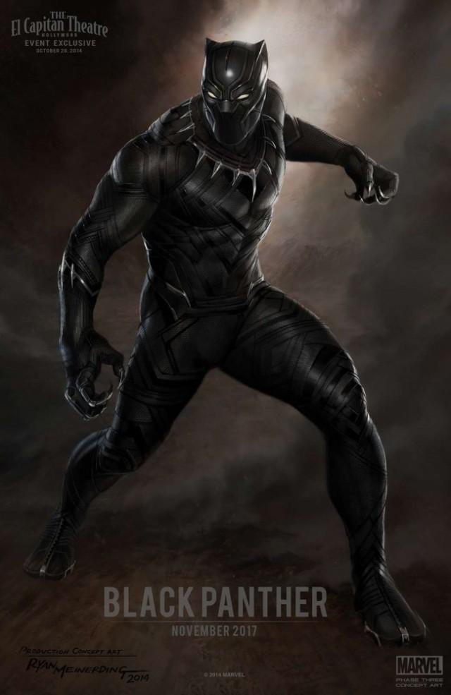 Постер фильма Чёрная Пантера