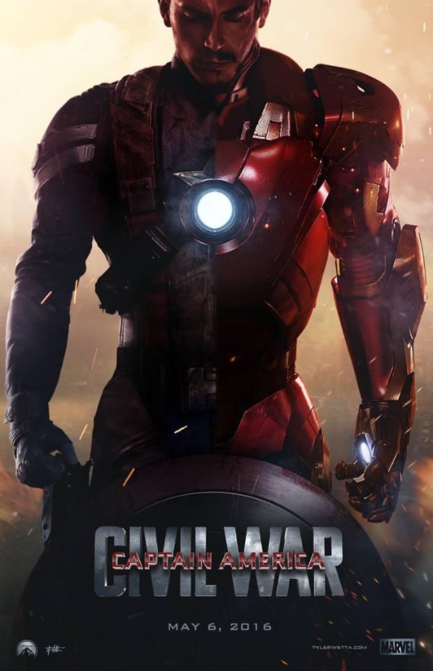 Постер фильма Первый мститель: Гражданская война