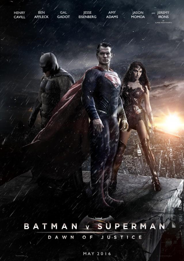 Постер фильма Бэтмен против Супермена: На заре справедливости