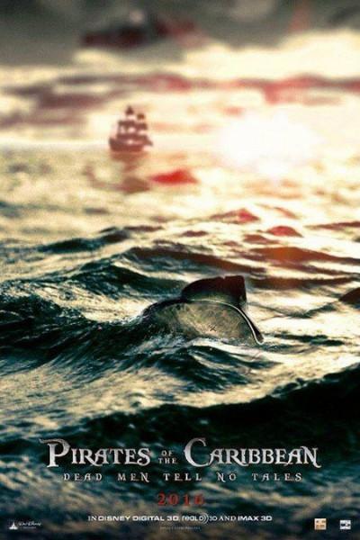 Постер фильма Пираты Карибского моря: Мертвецы не рассказывают сказки
