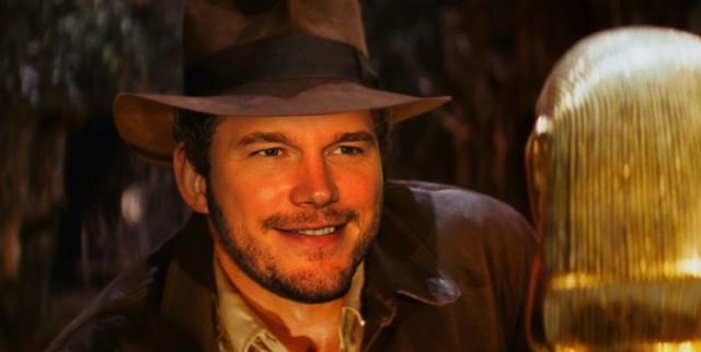 Крис Прэтт является первым кандидатом на роль Индианы Джонса
