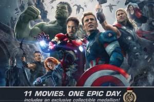 27-часовой марафон фильмов Marvel Studios