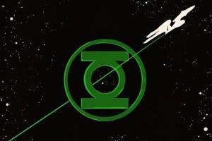 Новый комикс-кроссовер между Стартреком и Зеленым Фонарем