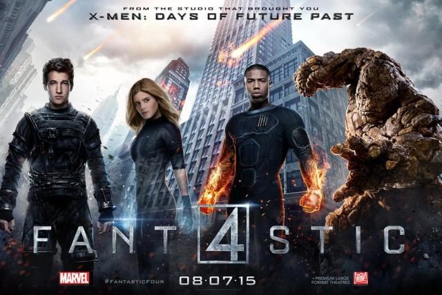 Командный постер фильма «Фантастическая Четверка»