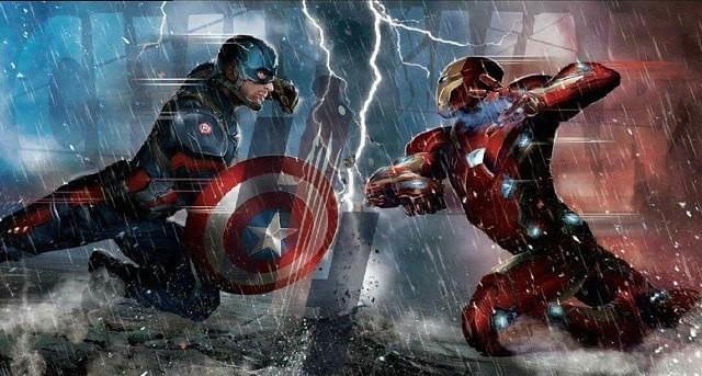 Первое промо фильма «Первый Мститель: Гражданская Война»