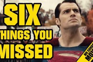 Топ шесть моментов в трейлере «Бэтмен против Супермена»