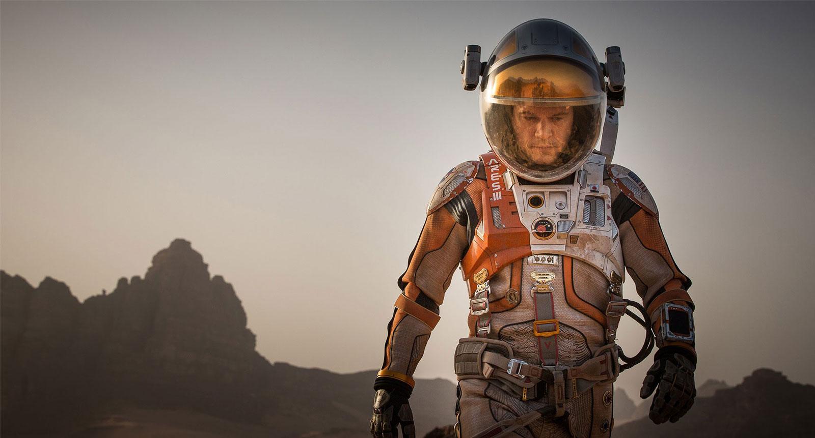 Рецензия на фильм «Марсианин»